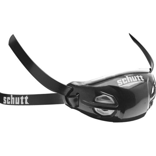 Schutt Elite Hard Cup Chinstrap - BLACK