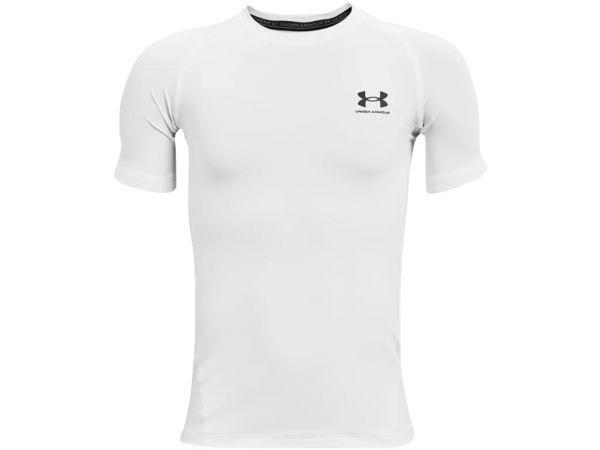 Under Armour YOUTH HeatGear Armour Shortsleeve Shirt - White