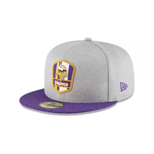 New Era 59FIFTY NFL18 Sideline Away Cap - Minnesota Vikings