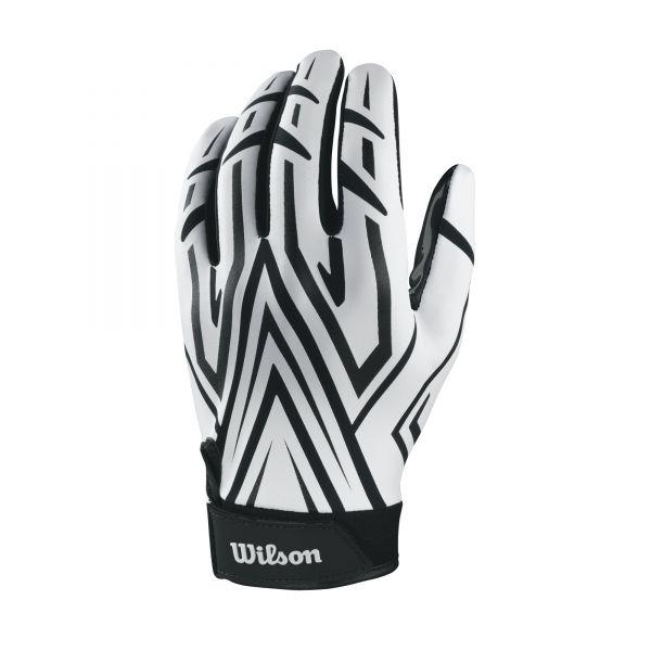 Wilson Clutch Receiver Gloves - White