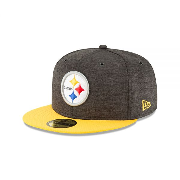 New Era 59FIFTY NFL18 Sideline Home Cap - Pittsburgh Steelers