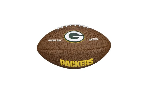 Wilson NFL Mini Team Logo Football - Green Bay Packers