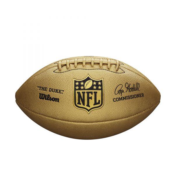 Wilson NFL DUKE Metallic Edition - Gold