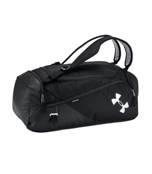 Under Armour Contain Duo 2.0 Backpack/Duffle, Small - Black