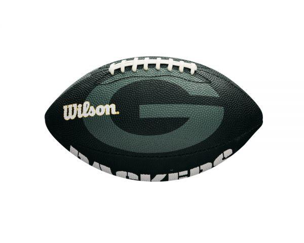 Wilson NFL Junior Team Logo Ball - Green Bay Packers