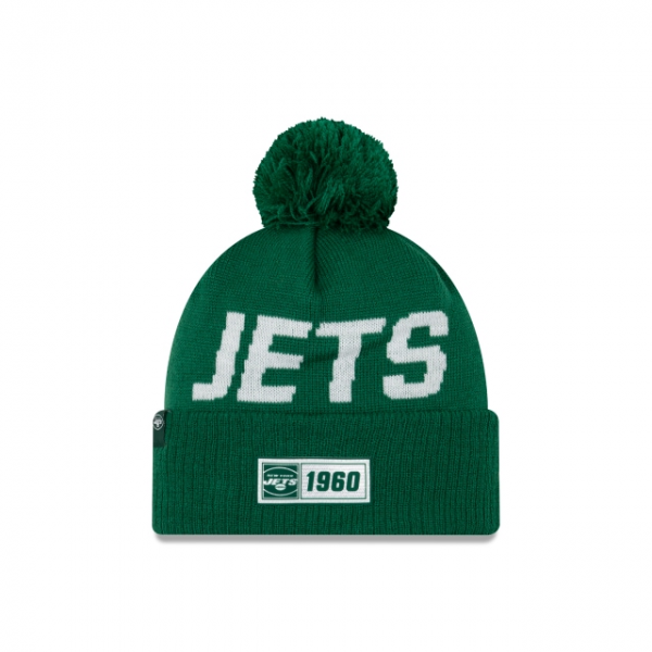 New Era On Field NFL19 Sport Knit Road - New York Jets