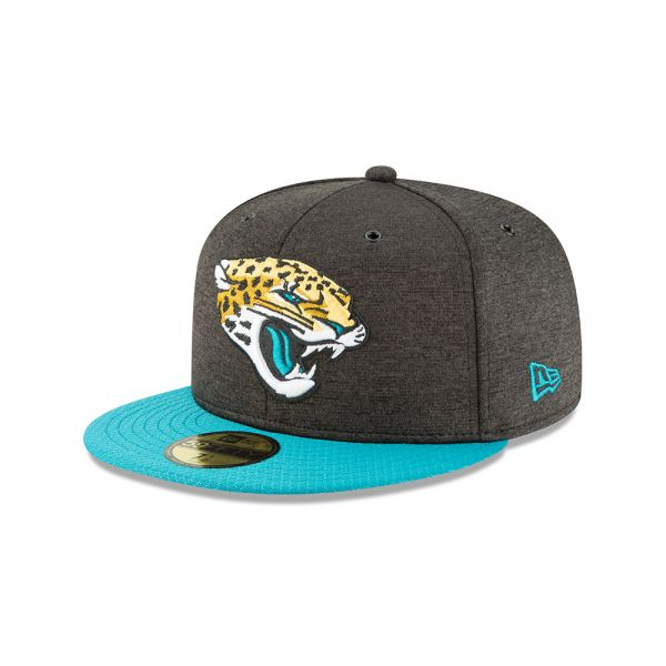 New Era 59FIFTY NFL18 Sideline Home Cap - Jacksonville Jaguars