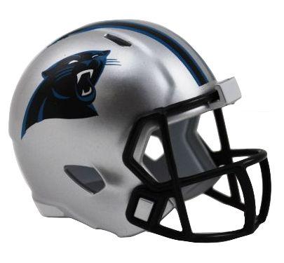 Speed Pocket Pro Club Helmet - Carolina Panthers
