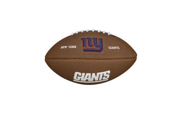Wilson NFL Mini Team Logo Football - New York Giants