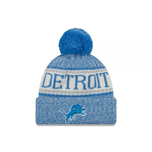 New Era On Field NFL18 Sport Knit - Detroit Lions