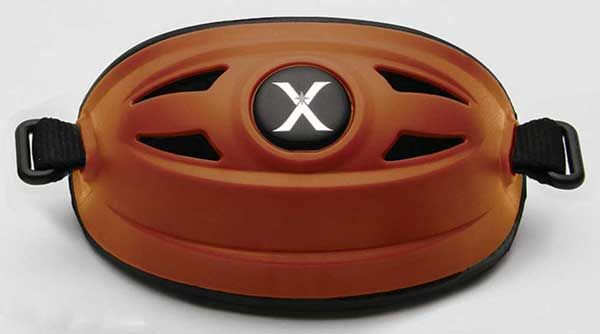 Xenith Hybrid Chin Cup - Burnt Orange
