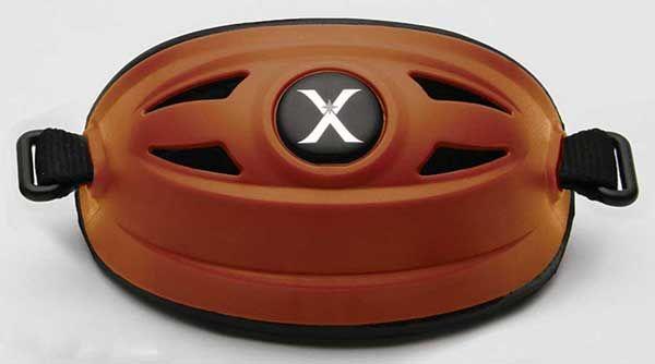 Xenith Hybrid Chin Cup - Burnt Orange