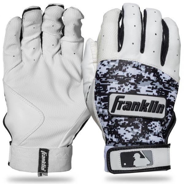 Franklin Digitek Series YOUTH Batting Gloves - White Camo