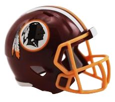 Speed Pocket Pro Club Helmet - Washington Redskins