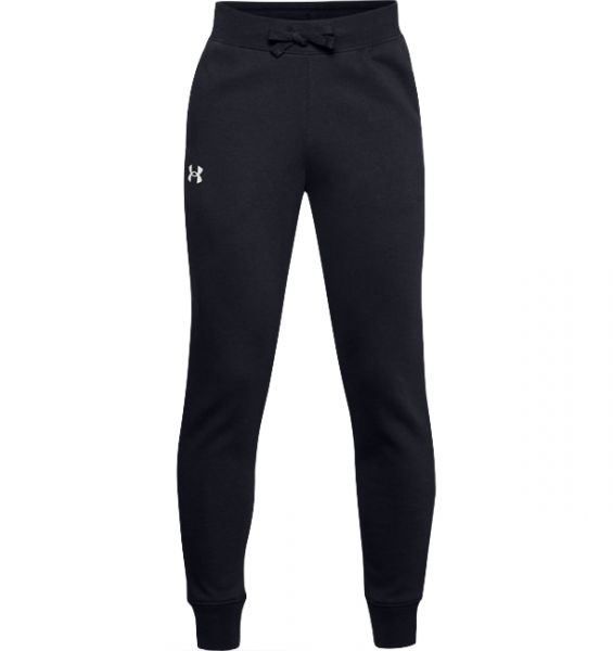 Under Armour YOUTH Rival Cotton Pants - Black