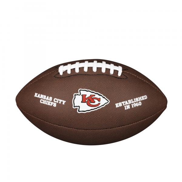 Wilson NFL Team Logo Composite Football - Kansas City Chiefs