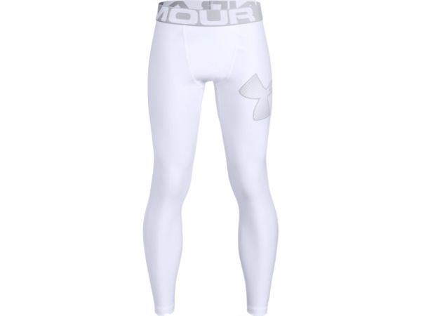 Under Armour YOUTH HeatGear Armour Legging - White