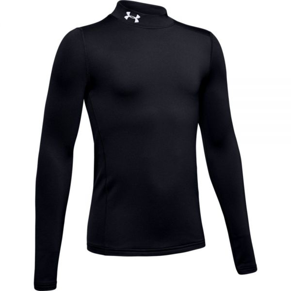 Under Armour YOUTH Coldgear Armour Mock - Black