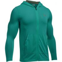 Under Armour Threadborne Fitted Full Zip Hoody - Turquoise Sky