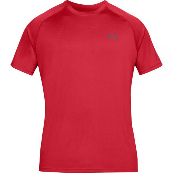 Under Armour Shortsleeve Tech Tee - Red