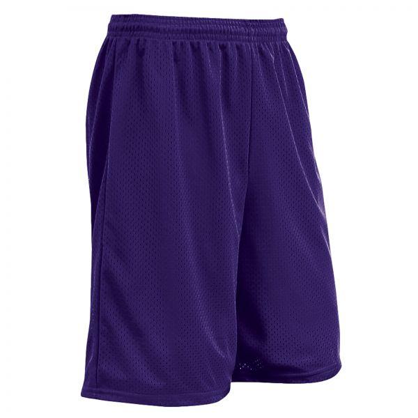 Champro Polyester Tricot Mesh Short - Purple