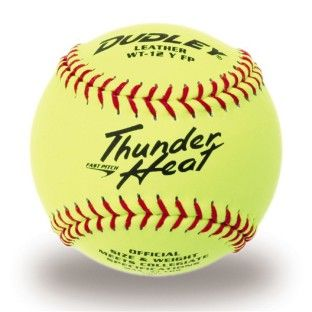 Spalding THUNDER HEAT Leather DUDLEY Softball