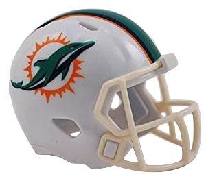 Speed Pocket Pro Club Helmet - Miami Dolphins