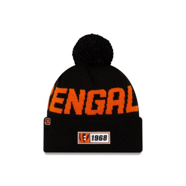 New Era On Field NFL19 Sport Knit Road - Cincinnati Bengals