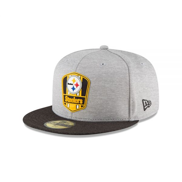 New Era 59FIFTY NFL18 Sideline Away Cap - Pittsburgh Steelers