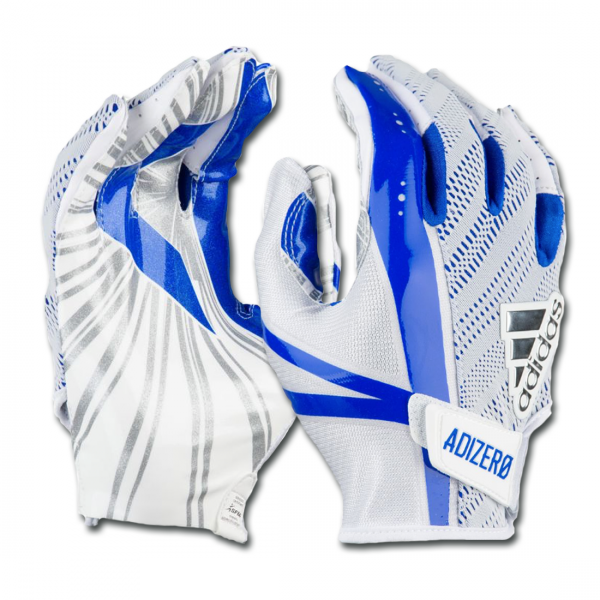 Adidas Adizero 5-Star 6.0 Gloves - White/Royal Blue