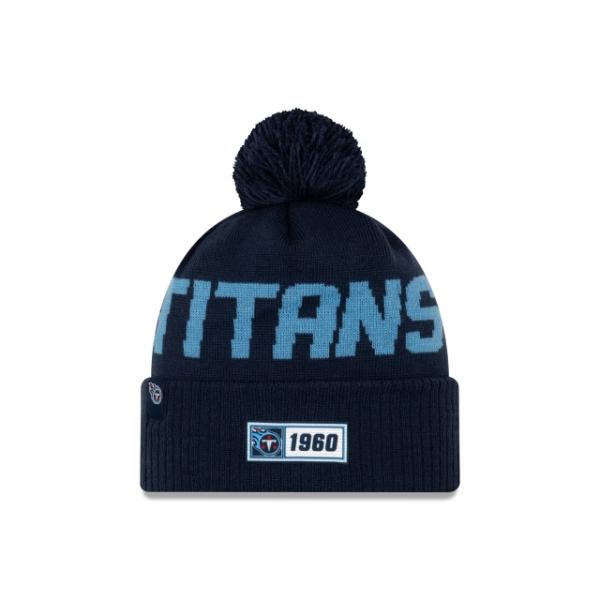 New Era On Field NFL19 Sport Knit Road - Tennessee Titans