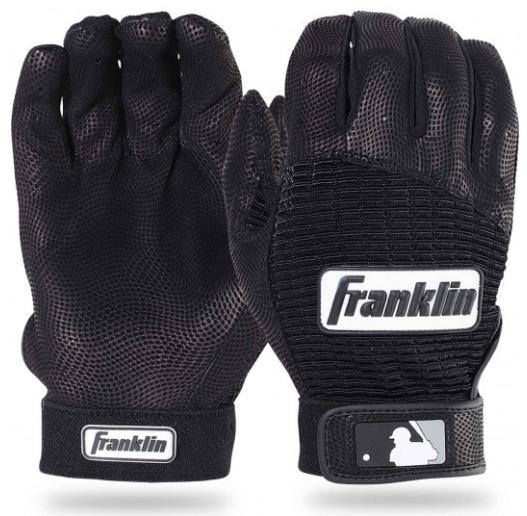 Franklin Pro Classic Batting Gloves - Black