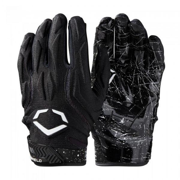 Evoshield EVO STUNT Padded Receiver Glove - Black