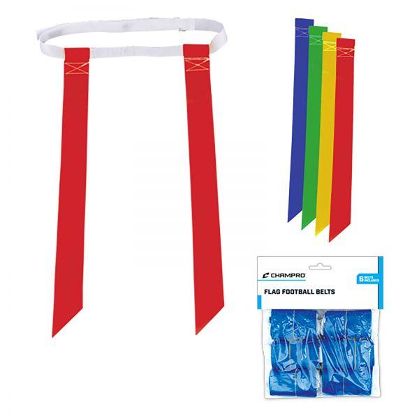 6 Flag Sets mit Klettverschluss