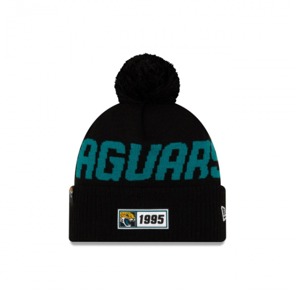 New Era On Field NFL19 Sport Knit Road - Jacksonville Jaguars