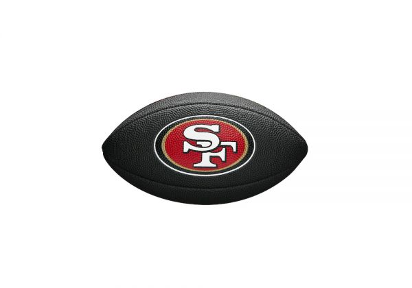Wilson NFL Mini Team Soft Touch Football - San Francisco 49ers