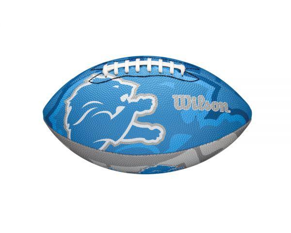 Wilson NFL Junior Team Logo Ball - Detroit Lions