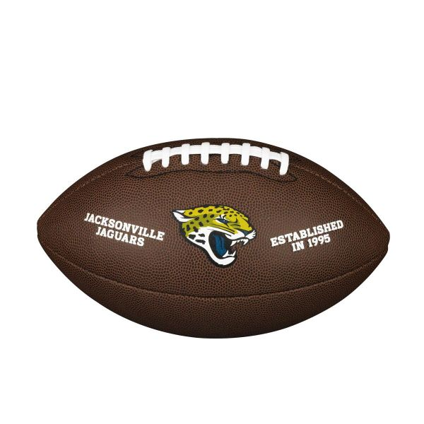 Wilson NFL Team Logo Composite Football - Jacksonville Jaguars