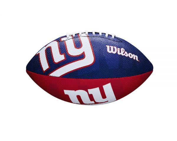 Wilson NFL Junior Team Logo Ball - New York Giants