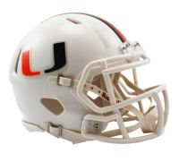 Speed Mini Helmet - Miami Hurricanes