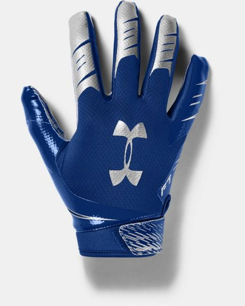Under Armour F7 Football Gloves - Royal Blue