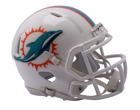 Speed Mini Helmet - Miami Dolphins