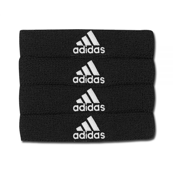 Adidas Interval 3/4-inch Bicep Bands (4-Pack) - Black