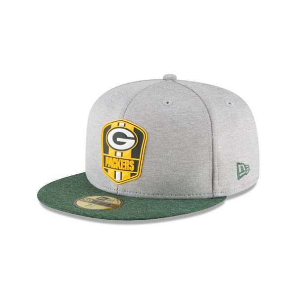 New Era 59FIFTY NFL18 Sideline Away Cap - Green Bay Packers